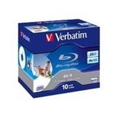 43713 Verbatim BD-R 25GB Inkjet 10pk