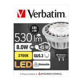 Verbatim 52356 Downlight MR16 8WATT WW DIMMABLE