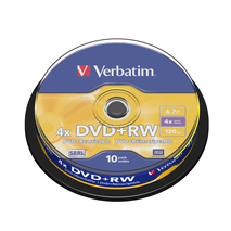 DVD rw 4.7GB 10Pk Spindle