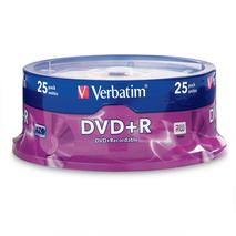VERBATIM 95033 DVD+R 4.7GB 25Pk