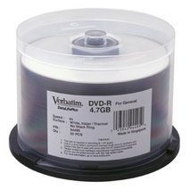 95211 Verbatim DVD-R 50Pk