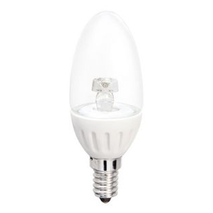 64204 Verbatim LED Globe E14 Candle 4w WW