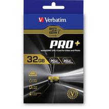 44033 Verbatim Pro+ Micro SDHC 32GB (UHS-I Class 10)
