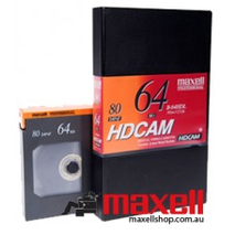 Maxell - HDCAM 64 Minutes Large Cassette