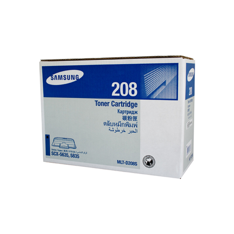 Samsung ML-TD208S Black Toner Cartridge