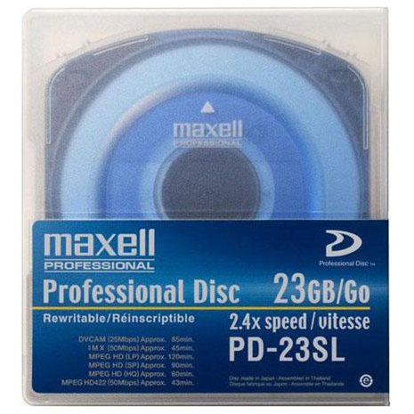 Maxell - XD CAM Single Layer 23G 1 disk