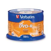 Verbatim 95101 DVD-R 4.7GB 50Pk
