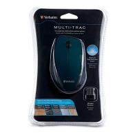 Verbatim 97992 Wireless Optical Multi-Trac Mouse - Black