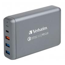 Verbatim 6754B 4 Ports 75W USB Hub Charger