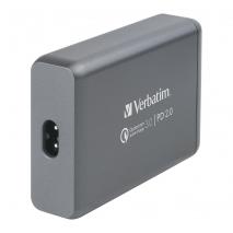 Verbatim 6754C 4 Ports 75W USB Hub Charger
