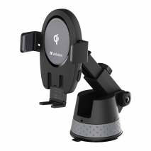 Verbatim 66318 Car Mount Charger 15W with Touch Sensor