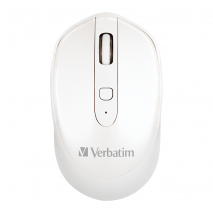 Verbatim Wireless Mice Rechargeable - White