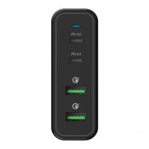 Verbatim 66402 4 Port 100W PD & QC 3.0 USB Charger
