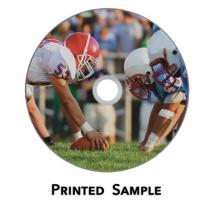 bd-r printed sample