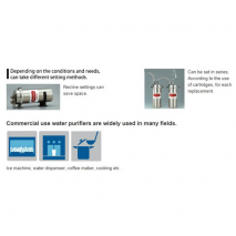 Cleansui Commercial - instal