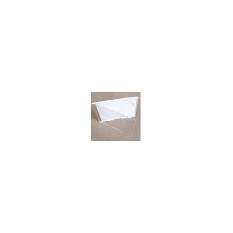 cd jewel case white