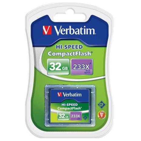 Verbatim 62865 Compact Flash Card 32GB 62865