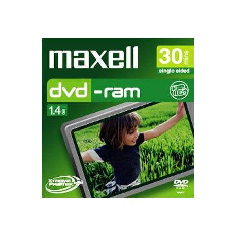 Maxell - 8cm Camcorder DVD-RAM 60min 1 Pack Jewel Case