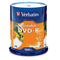 Verbatim 95153 DVD-R 4.7GB 100Pk White