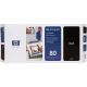 HP No 80 Printhead & Cleaner Cartridge Black