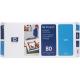 HP No 80 Printhead & Cleaner Cartridge Cyan